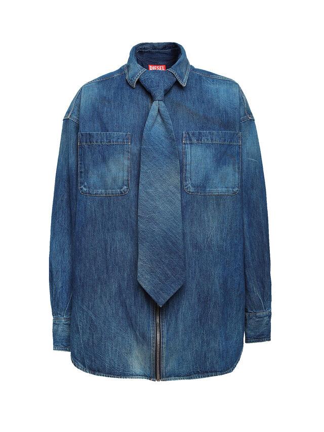 Diesel - SOTS01, Blue Jeans - Camisas - Image 1