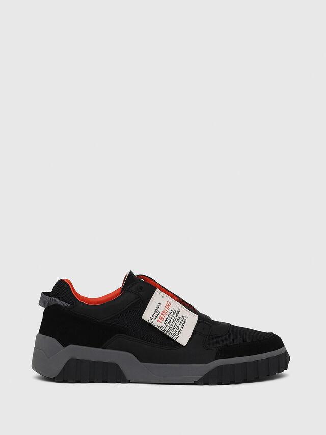 Diesel - S-LE RUA ON, Negro - Sneakers - Image 1
