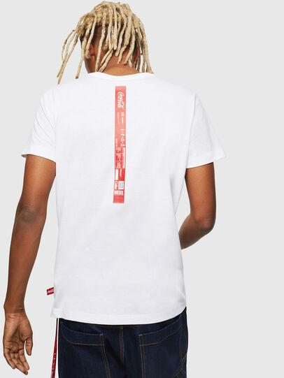 Diesel - CC-T-DIEGO-COLA, Blanco - Camisetas - Image 3