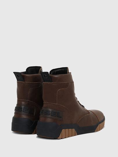 Diesel - H-RUA AM, Marrón - Sneakers - Image 3