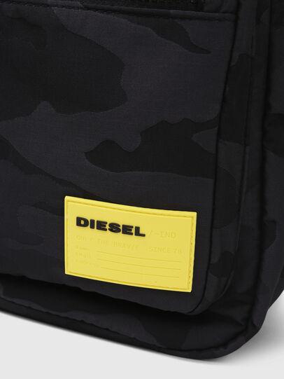 Diesel - F-DISCOVER BACK, Negro/Amarillo - Mochilas - Image 5