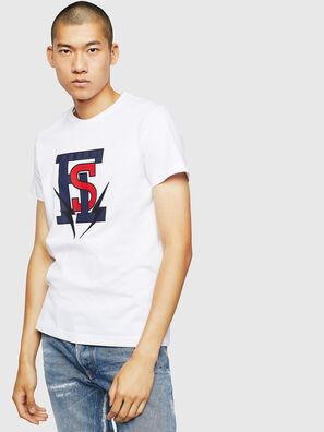 T-DIEGO-B3, Blanco - Camisetas