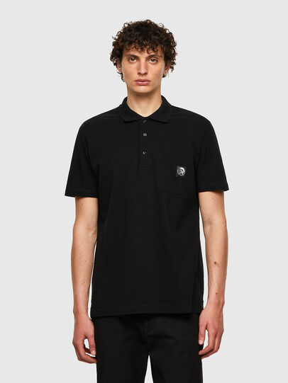 Diesel - T-POLO-WORKY, Negro - Polos - Image 1