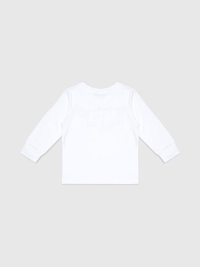 Diesel - TDOSKYB ML-R, Blanco - Camisetas y Tops - Image 2