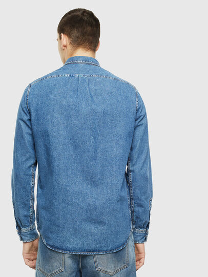 Diesel - D-BER-P, Blue Jeans - Camisas de Denim - Image 2