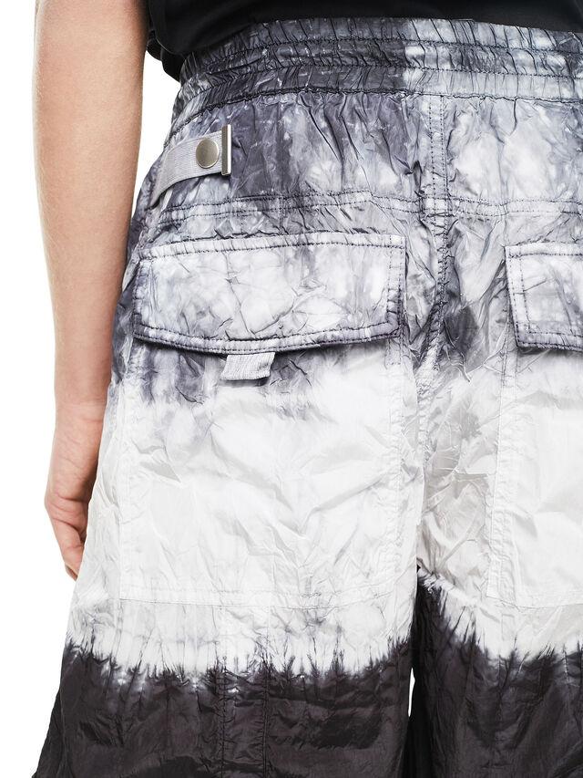 Diesel - PAIDAY, Negro/Blanco - Shorts - Image 4