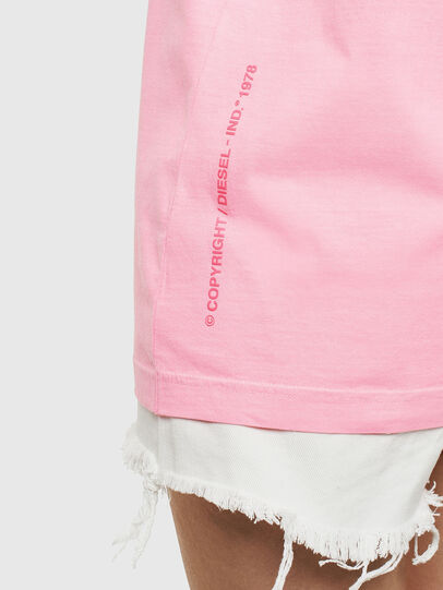 Diesel - T-JUST-NEON, Rosa - Camisetas - Image 9