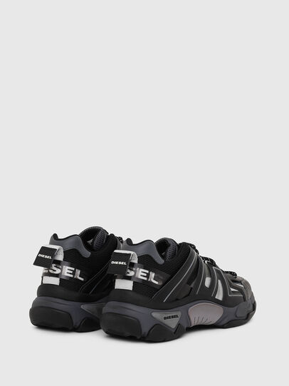 Diesel - S-KIPPER LOW TREK, Negro - Sneakers - Image 3