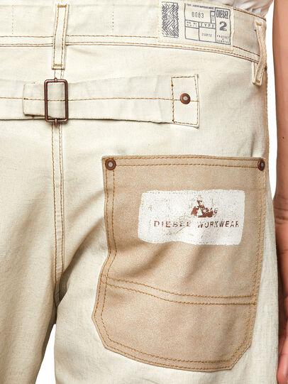 Diesel - DxD-5, Blanco - Pantalones - Image 3