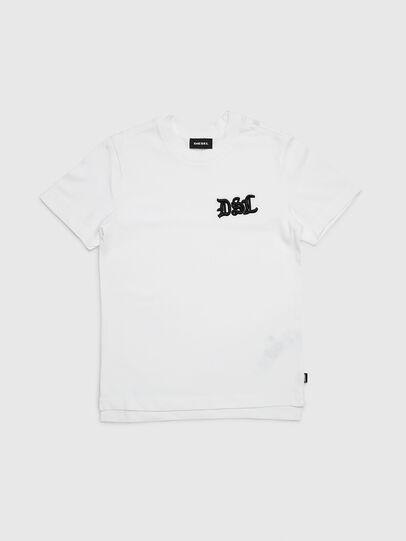 Diesel - TJUSTXMAS, Blanco - Camisetas y Tops - Image 1