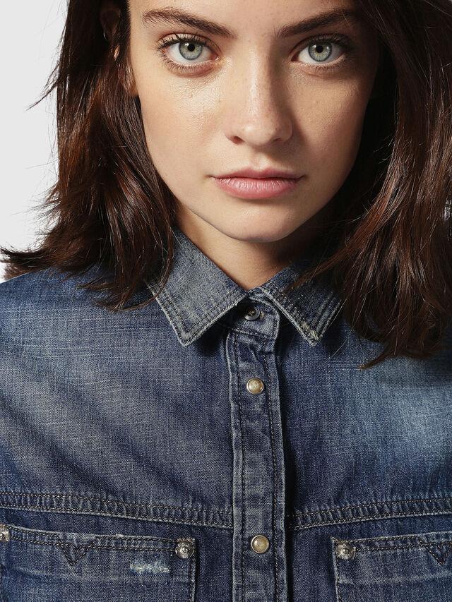 Diesel - DE-KERI, Blue Jeans - Camisas de Denim - Image 4