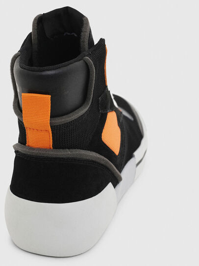 Diesel - S-DESE MS, Negro/Naranja - Sneakers - Image 6
