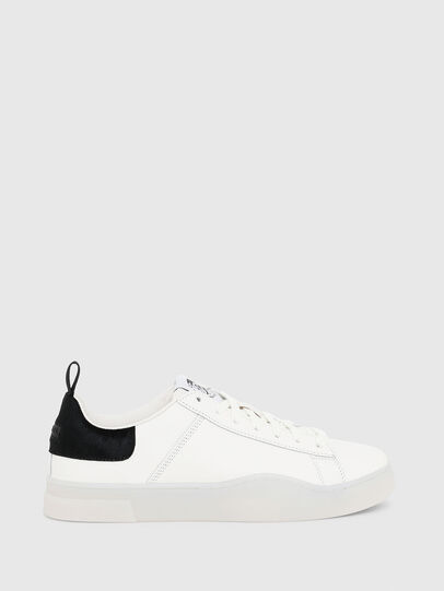 Diesel - S-CLEVER LOW LACE, Blanco/Negro - Sneakers - Image 1