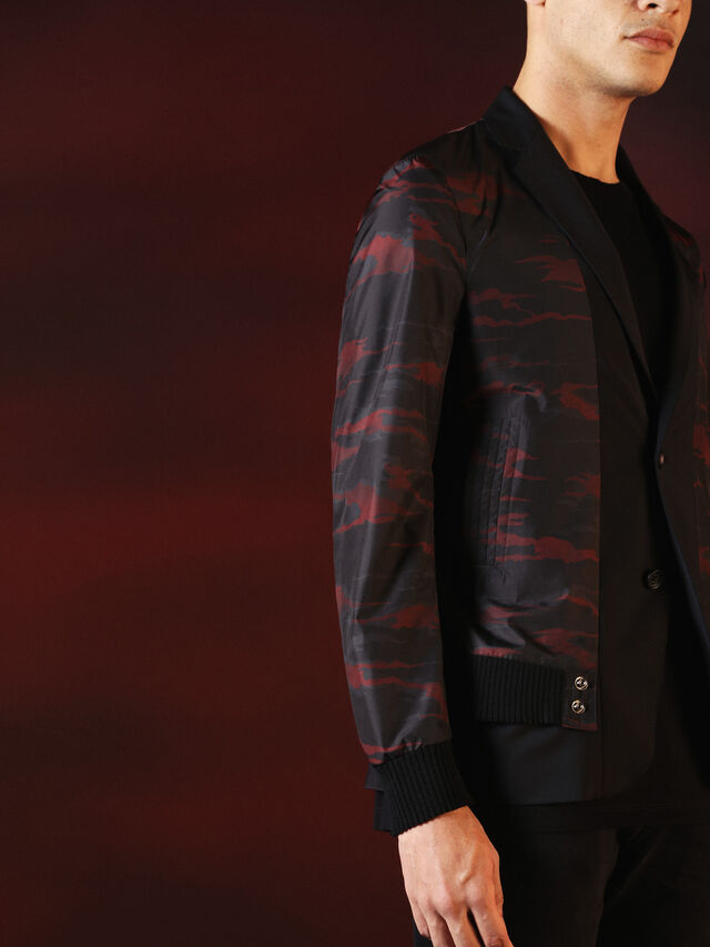 Diesel - DVL-JACKET-SPECIAL COLLECTION, Negro - Chaquetas - Image 3