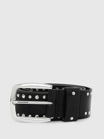 Diesel - B-ALPAGO, Negro - Cinturones - Image 1