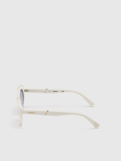 Diesel - DL0281, Blanco - Gafas de sol - Image 3