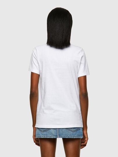 Diesel - T-SILY-ECOLOGO, Blanco - Camisetas - Image 2