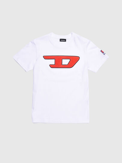 Diesel - TJUSTDIVISION-D, Blanco - Camisetas y Tops - Image 1