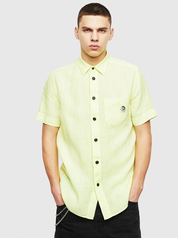 S-KIRUMA-B, Amarillo Fluo - Camisas