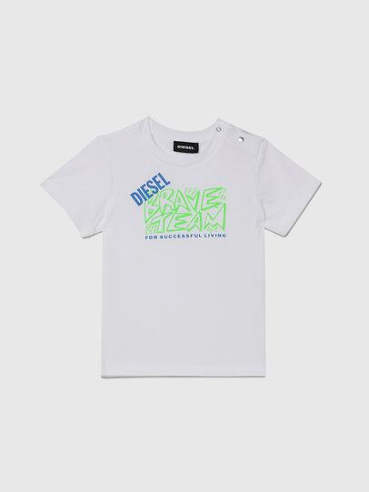 Diesel - TESSOB, Blanco - Camisetas y Tops - Image 1