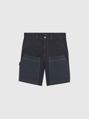 P-TRENT-SHORT, Negro/Azul marino - Shorts