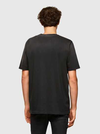 Diesel - T-JUST-A37, Negro - Camisetas - Image 2
