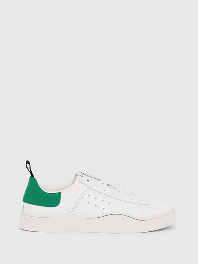 Diesel - S-CLEVER LOW, Blanco/Verde - Sneakers - Image 1