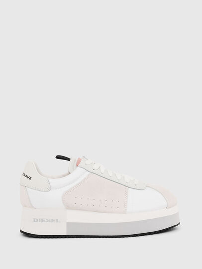 Diesel - S-PYAVE WEDGE, Blanco/Rosa - Sneakers - Image 1