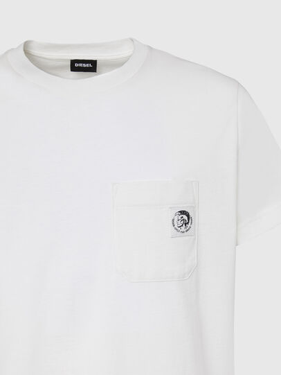 Diesel - T-WORKY-MOHI, Blanco - Camisetas - Image 3