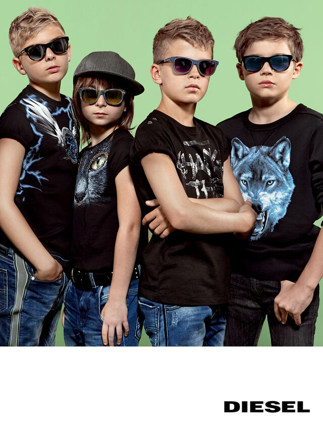 Diesel - DM0200, Black Jeans - Kid Gafas - Image 5