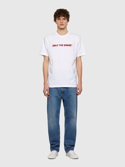 Diesel - T-JUST-E4, Blanco - Camisetas - Image 5
