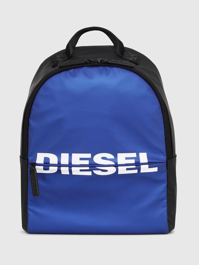 Diesel - BOLD BACKPACK, Azul/Negro - Bolsos - Image 1