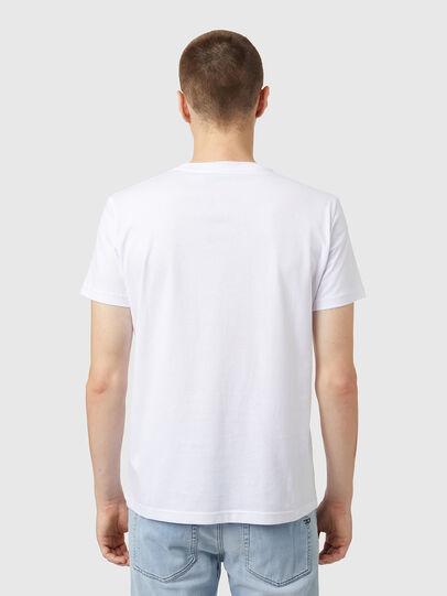 Diesel - T-DIEGOS-B5, Blanco - Camisetas - Image 2