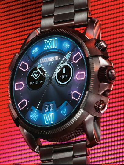 Diesel - DT2011, Gris Metal - Smartwatches - Image 2