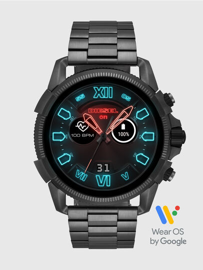 Diesel - DT2011, Gris Metal - Smartwatches - Image 1