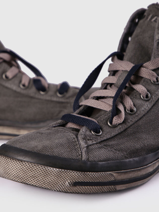 Diesel - EXPOSURE I, Gris Metal - Sneakers - Image 6