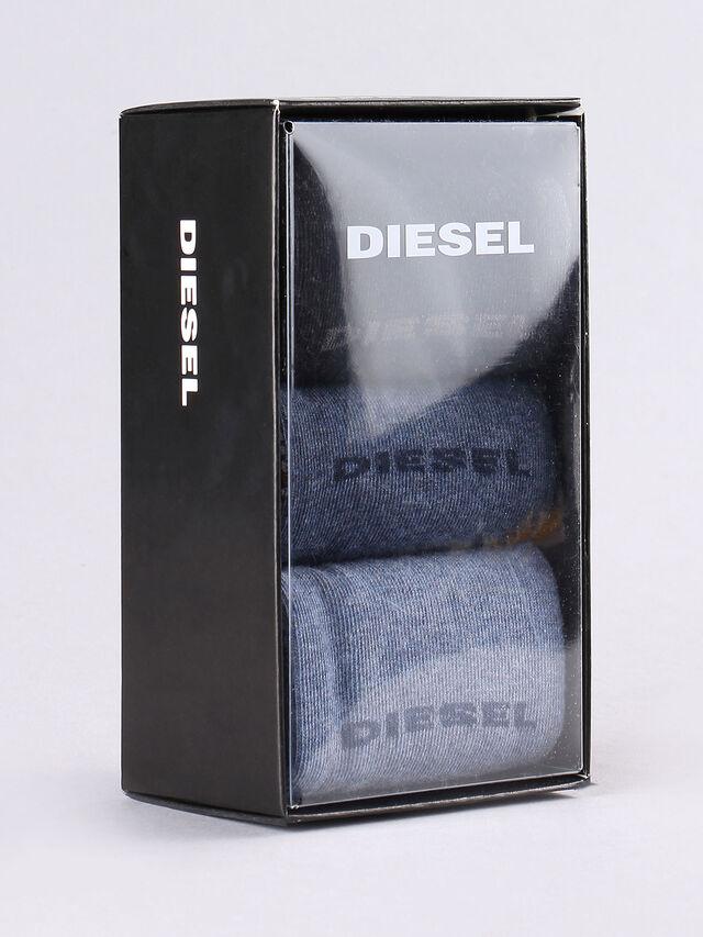 Diesel - SKM-RAY-THREEPACK, Azul - Calcetines - Image 1