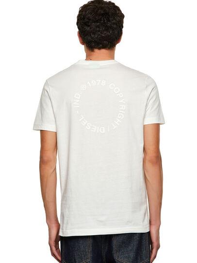Diesel - T-DIEGOS-A4, Blanco - Camisetas - Image 2