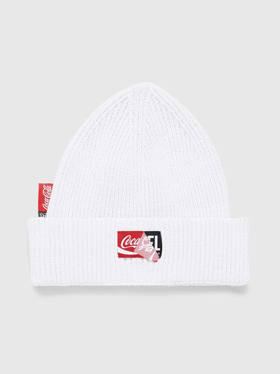 Diesel - CC-BEANY-COLA, Blanco - Gorros - Image 1
