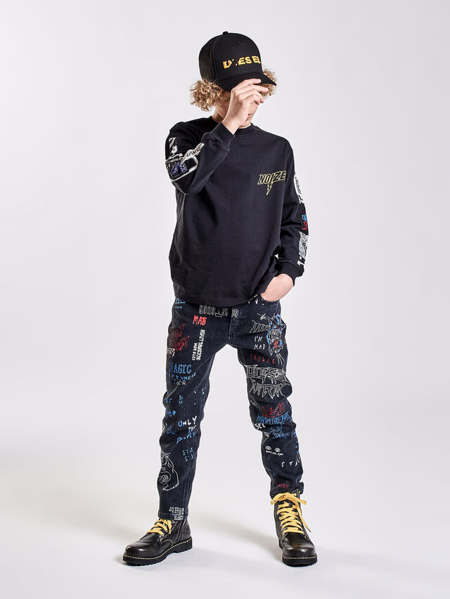 Diesel - REEN-J-N, Black Jeans - Vaqueros - Image 5