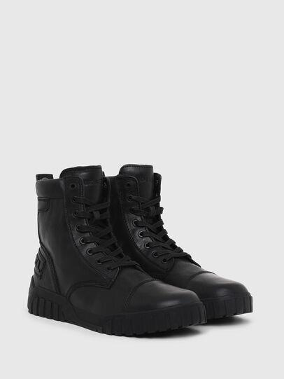 Diesel - H-RUA AM, Negro - Sneakers - Image 2