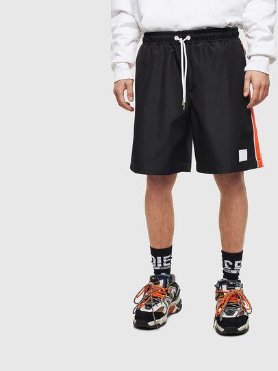 Diesel - P-KEITH, Negro - Shorts - Image 1