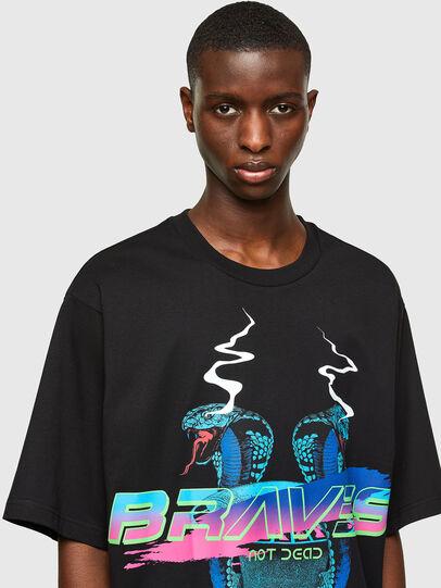 Diesel - T-DELPHI-E1, Negro - Camisetas - Image 3