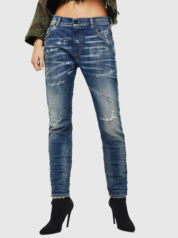 Krailey JoggJeans 0870Q, Azul medio - Vaqueros