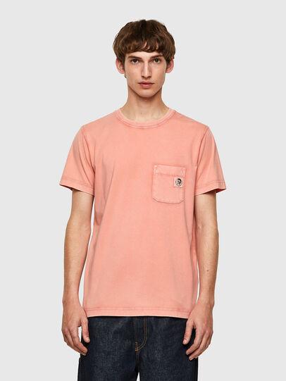 Diesel - T-WORKY-MOHI-B1, Rosa - Camisetas - Image 1