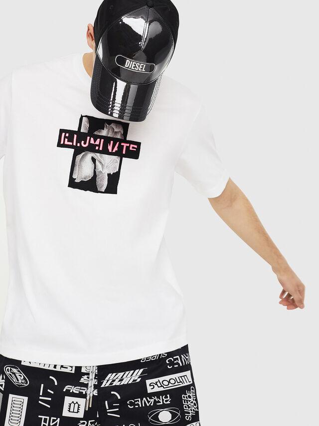 Diesel - T-JUST-Y23, Blanco - Camisetas - Image 4