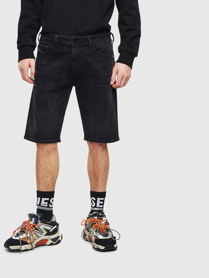 Diesel - THOSHORT, Negro - Shorts - Image 1