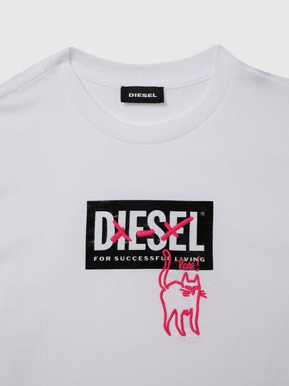 Diesel - TUDARICAT, Blanco - Camisetas y Tops - Image 3