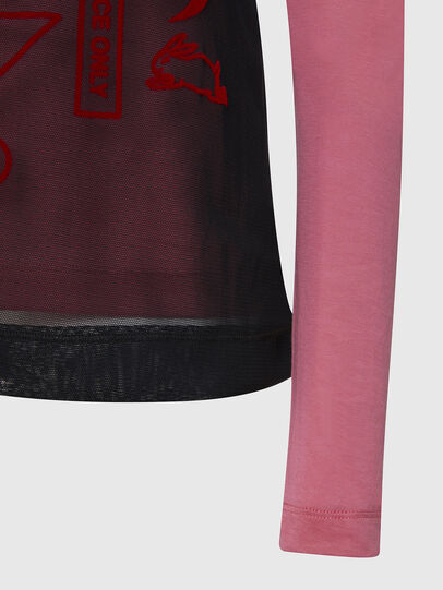 Diesel - T-LAYER, Rosa - Tops - Image 4