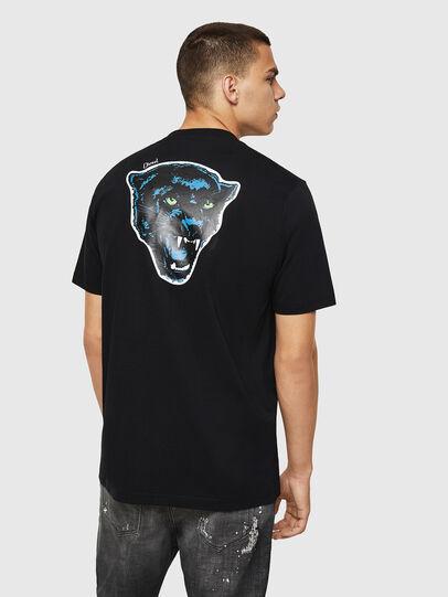 Diesel - T-JUST-B12, Negro - Camisetas - Image 2